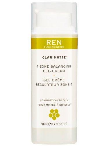Image of   Ren Gel Creme - Clairmatte T-zone Balancing Gel-creme 50 Ml