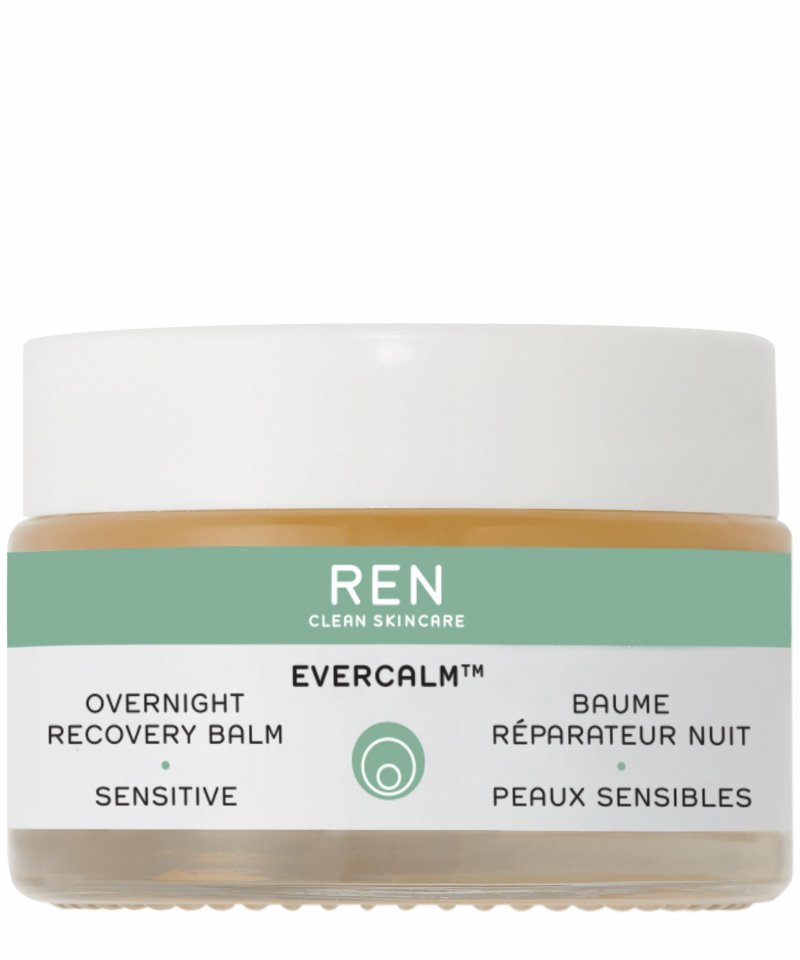 Image of   Ren Ansigtscreme - Evercalm Overnight Recovery Balm - 30 Ml