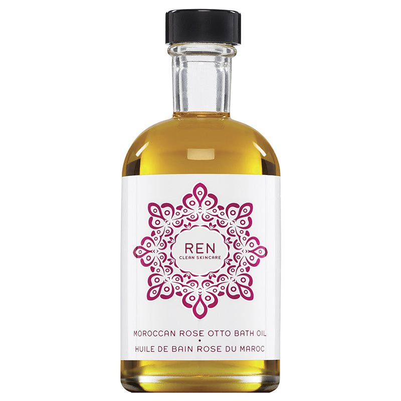 Image of   Ren Badeolie - Moroccan Rose Otto Bath Oil 110 Ml