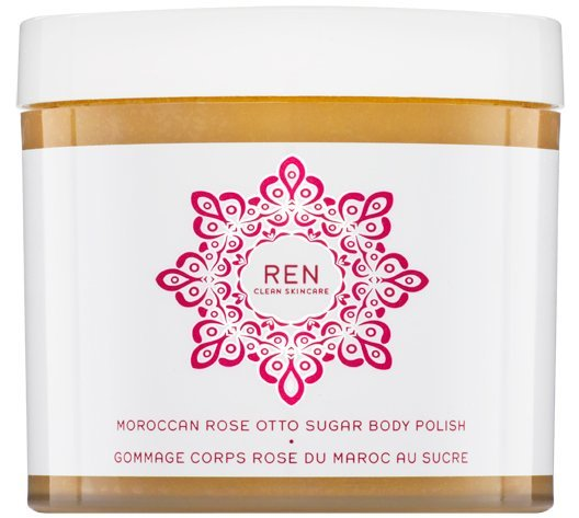 Ren - Moroccan Rose Otto Sugar Body Polish Sukker-peeling 330 Ml