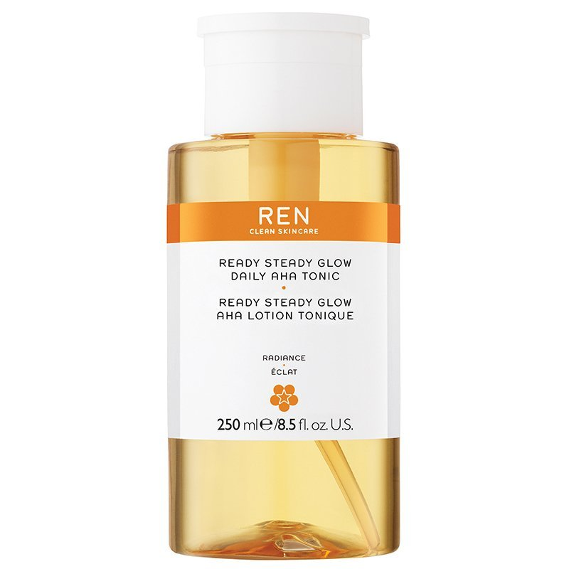 Ren - Radiance Ready Steady Glow Daily Aha Tonic 250 Ml