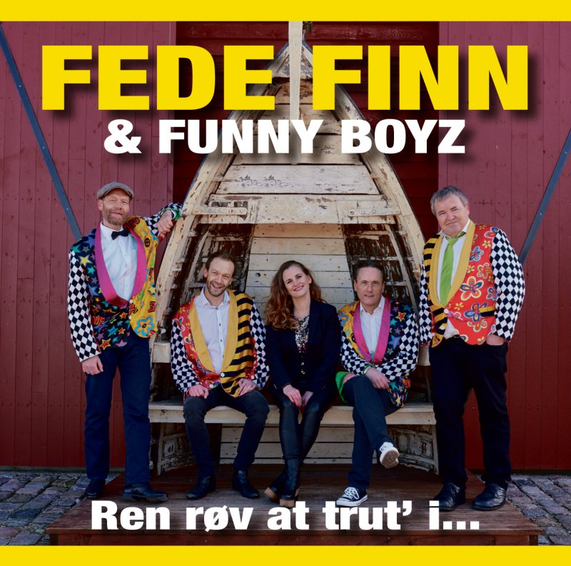 Image of   Fede Finn Og Funny Boyz - Ren Røv At Trut I - CD