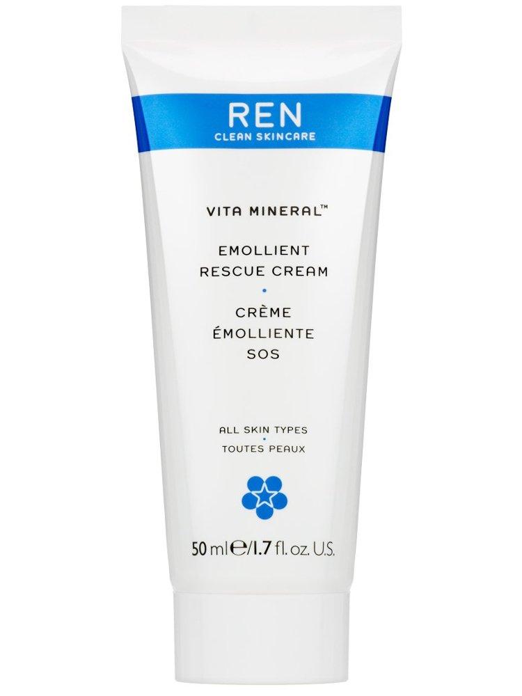 Ren - Vita Mineral Emollient Rescue Creme 50 Ml