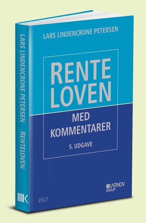 Renteloven - Lars Lindencrone Petersen - Bog