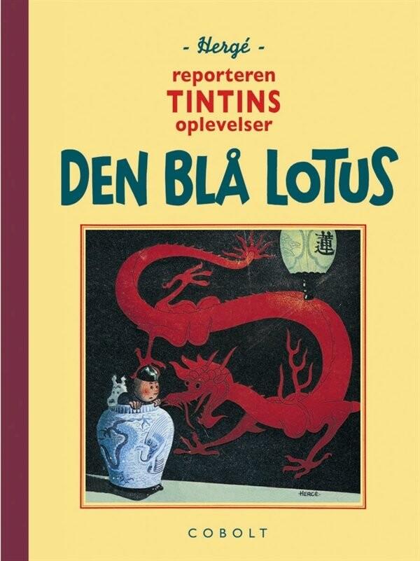 Billede af Tintin - Den Blå Lotus - Hergé - Tegneserie