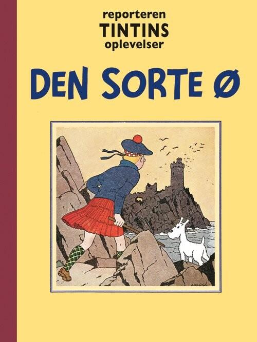 Image of   Tintin - Den Sorte ø - Hergé - Tegneserie