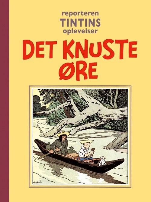 Billede af Tintin - Det Knuste øre - Hergé - Tegneserie