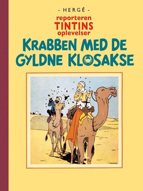 Billede af Tintin - Krabben Med De Gyldne Klosakse - Hergé - Tegneserie