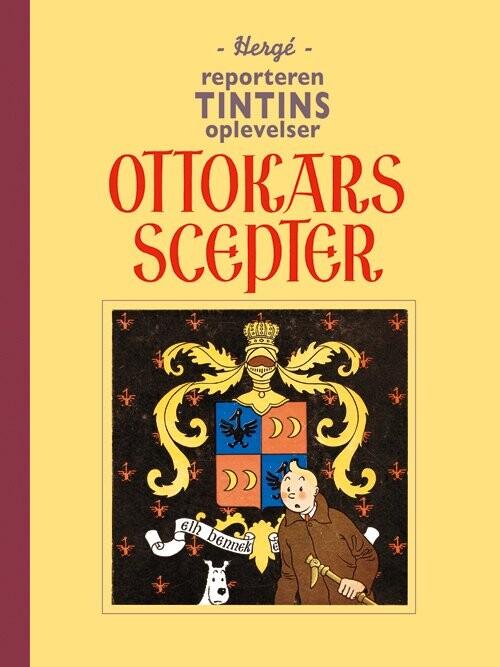 Billede af Tintin - Ottokars Scepter - Hergé - Tegneserie