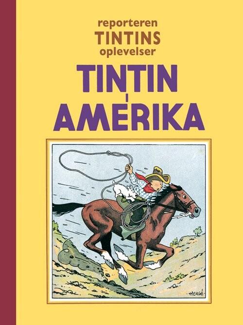 Image of   Tintin - I Amerika - Hergé - Tegneserie
