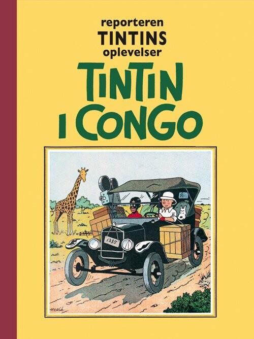 Billede af Tintin - I Congo - Hergé - Tegneserie