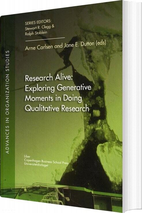 Image of   Research Alive - Arne Carlsen - Bog