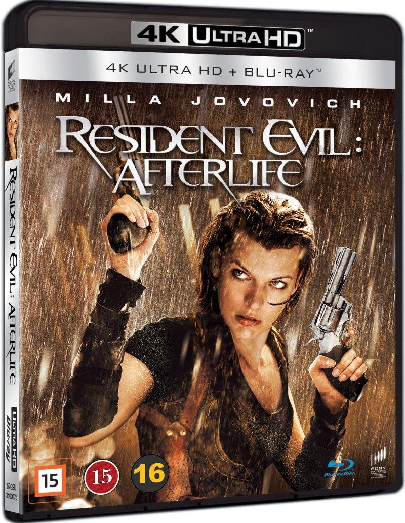 Image of   Resident Evil: Afterlife - 4K Blu-Ray