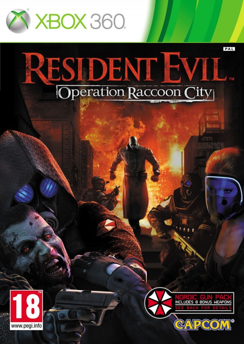 Resident Evil: Operation Raccoon City (nordic Edition) - Xbox 360