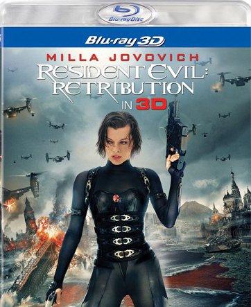 Image of   Resident Evil - Retribution - 3D Blu-Ray
