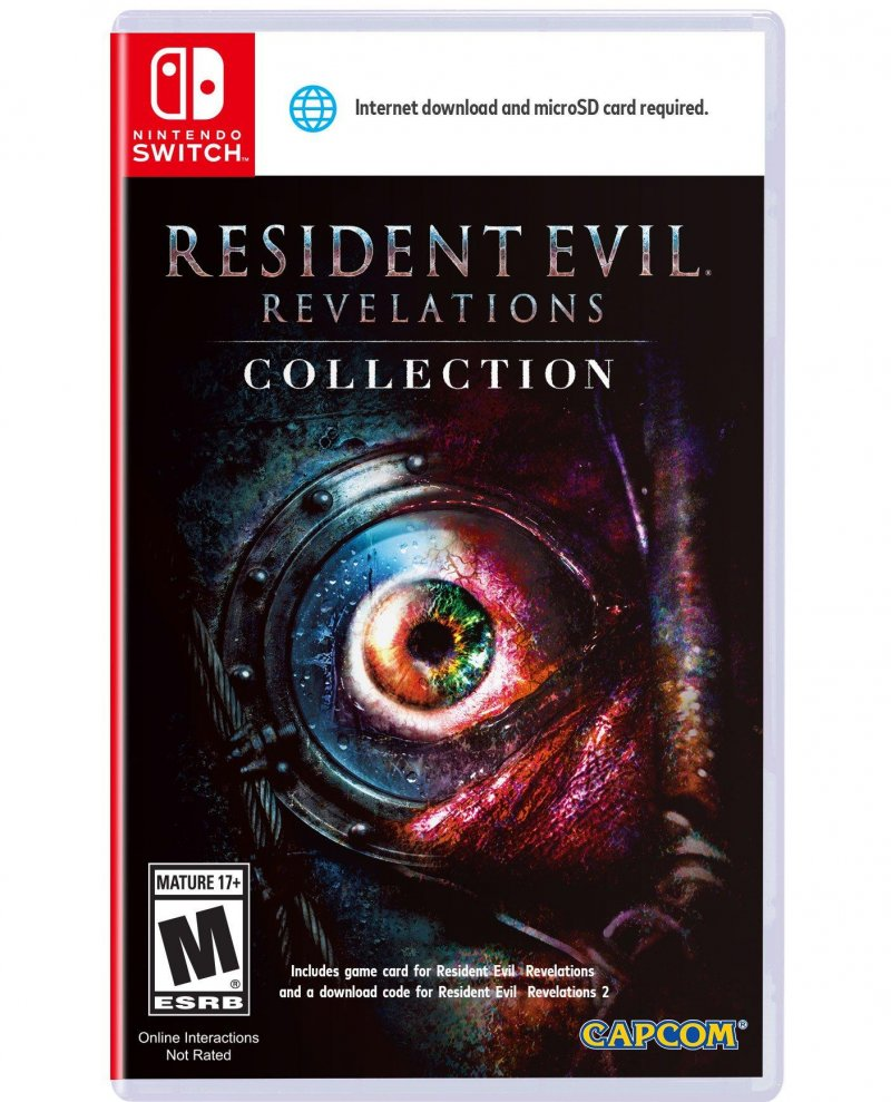 Image of   Resident Evil Revelations Collection (import) - Nintendo Switch