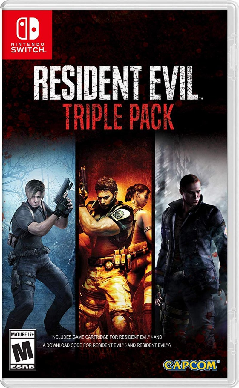 Image of   Resident Evil Triple Pack - Nintendo Switch