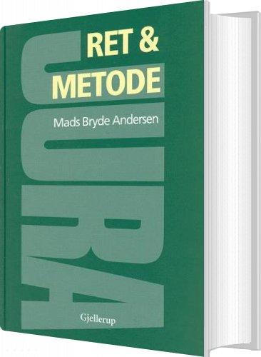 Image of   Ret Og Metode - Mads Bryde Andersen - Bog