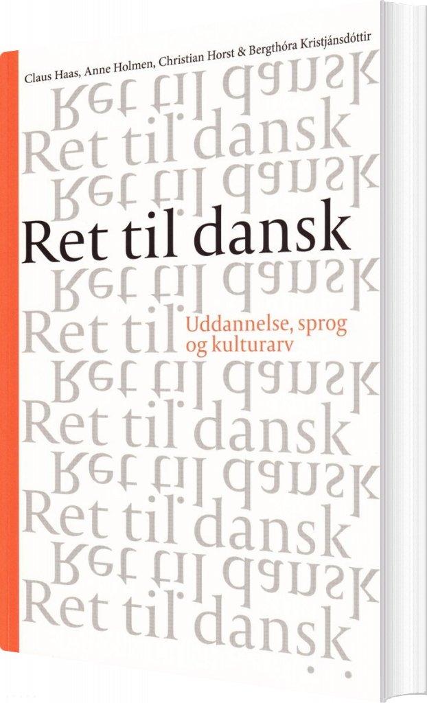 Ret Til Dansk - Bog