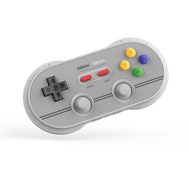 Image of   8bitdo Retro N30 Pro2 - Nintendo Switch Bluetooth Controller - 6th Edition