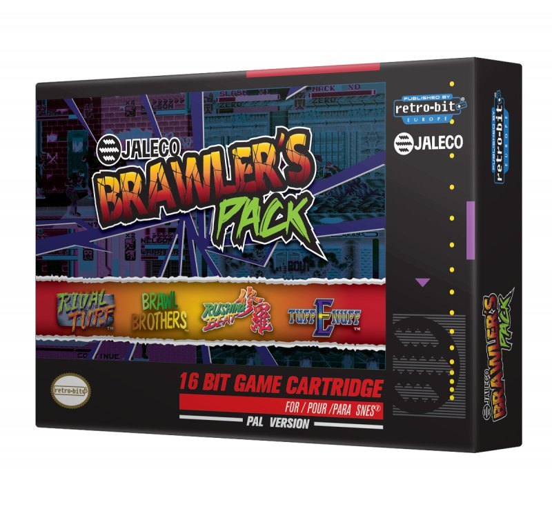 Image of   Jaleco Brawlers Pack - Snes