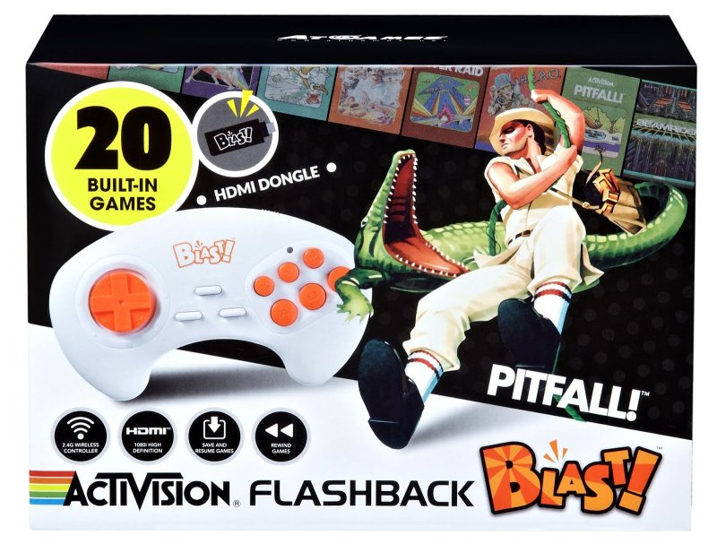 Image of   Blast - Activision Flashback - Retro Spillekonsol Med 20 Spil Inkl. Pitfall