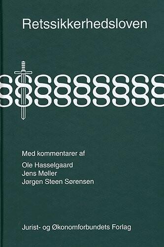 Image of   Retssikkerhedsloven Med Kommentarer - Møller J - Bog