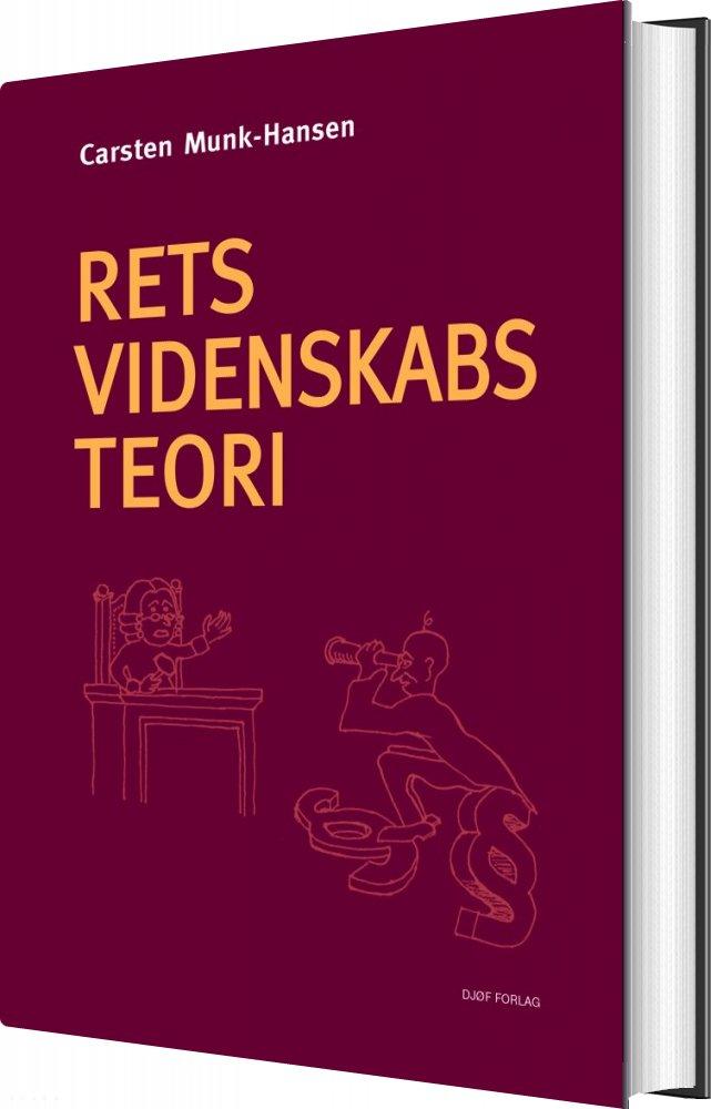 Image of   Retsvidenskabsteori - Carsten Munk-hansen - Bog