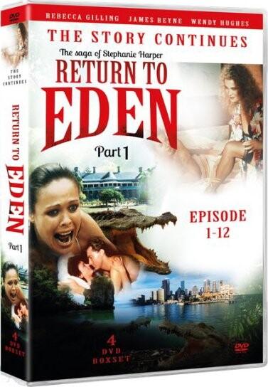 Billede af Slangen I Paradis - Fortsættelsen Del 1  / Return To Eden - 1986 - DVD - Tv-serie