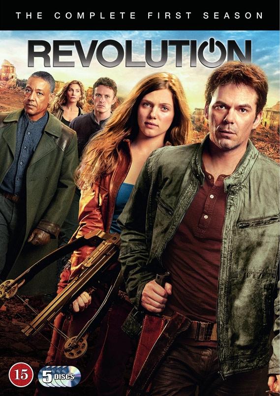 Image of   Revolution - Sæson 1 - DVD - Tv-serie
