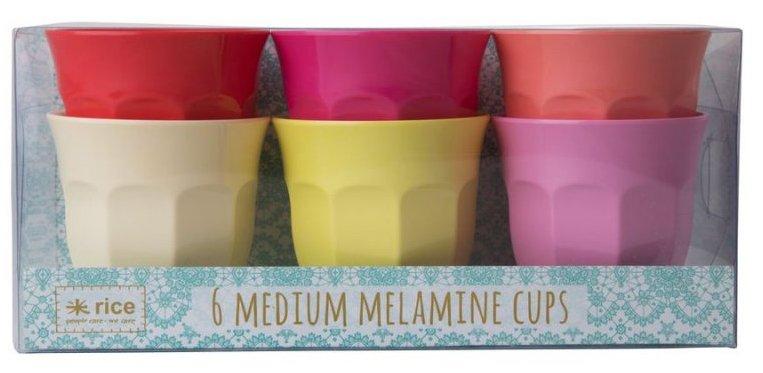 Image of   Rice Melamin Krus - Medium - Solens Farver