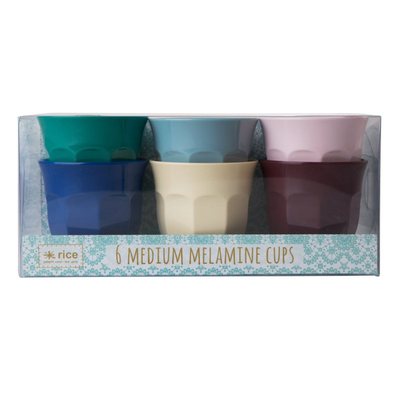 Image of   Rice Melamin Krus - Medium - Urbane Farver