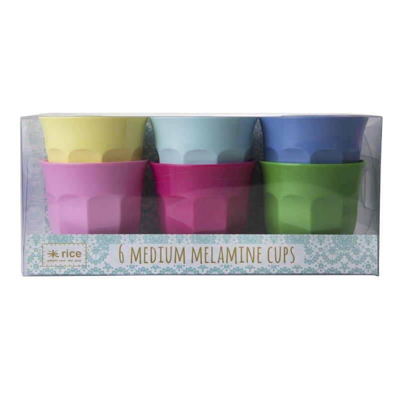 Image of   Rice Melamin Krus - Medium - Klassiske Farver