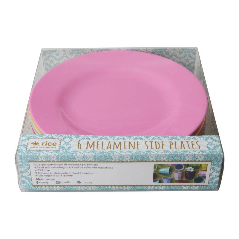 Image of   Rice Melamin Tallerkner - Klassiske Farver
