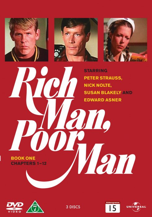 Rich Man Poor Man - Sæson 1 - DVD - Tv-serie