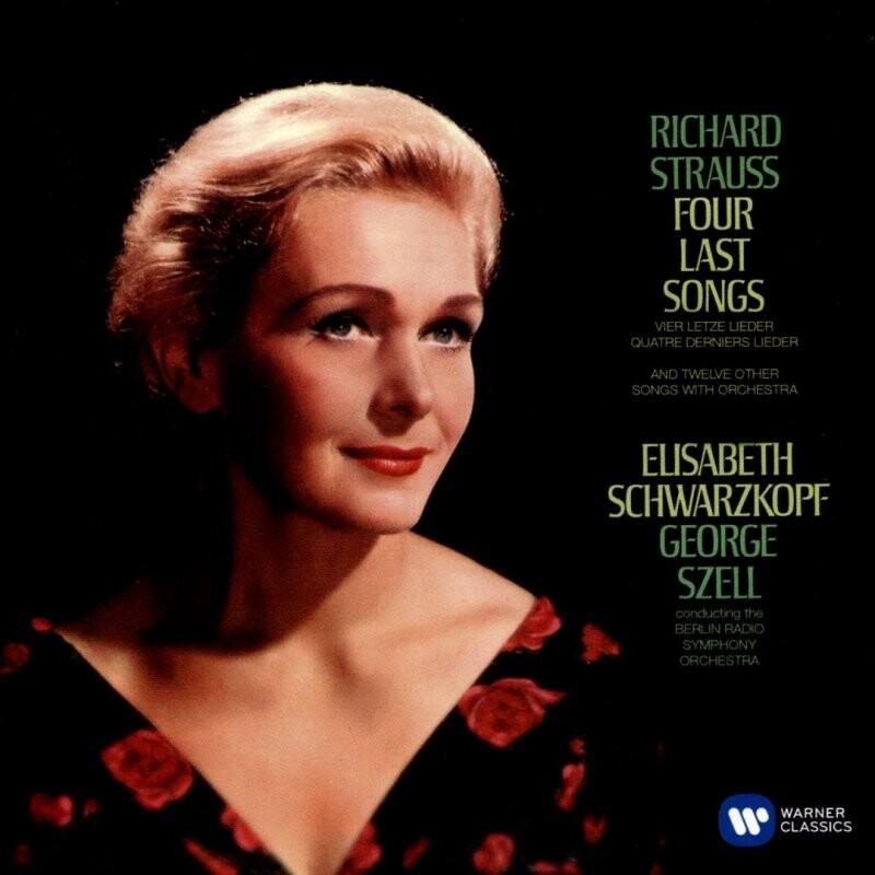 Image of   Elisabeth Schwarzkopf & George Szell - Richard Strauss: Vier Letzte Lieder - CD