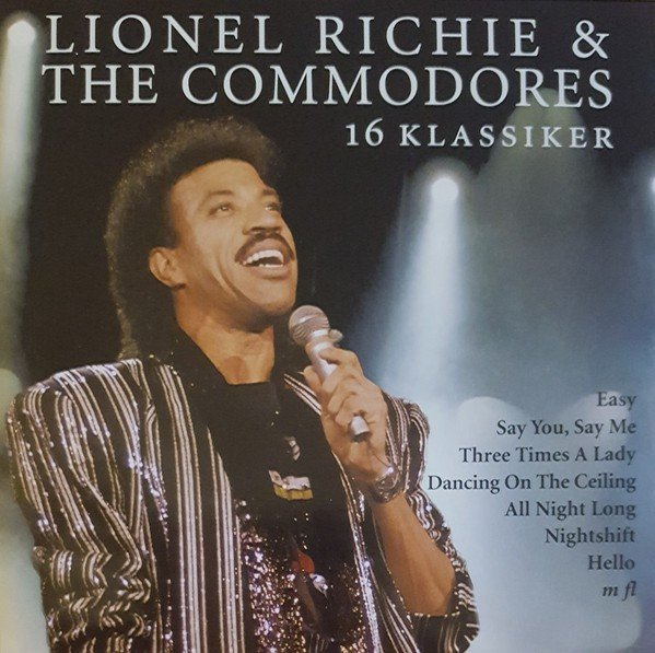 Image of   Lionel Richie & The Commodores - 16 Klassikere - CD