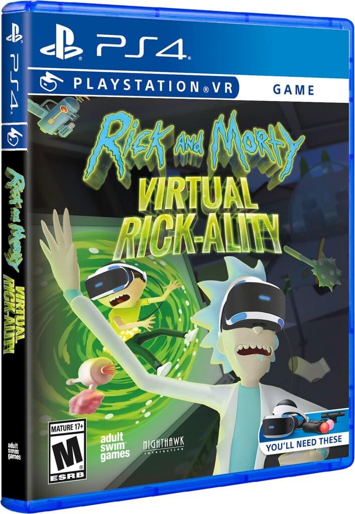 Rick And Mortys Virtual Rick-ality - PS4