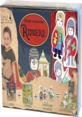 Riddere, Min Lille Eventyrverden - Aktivitetsæske - Diverse - Bog