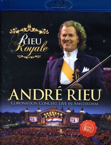 Billede af Rieu Royale - Andre Rieu Coronation Concert Live In Amsterdam - Blu-Ray