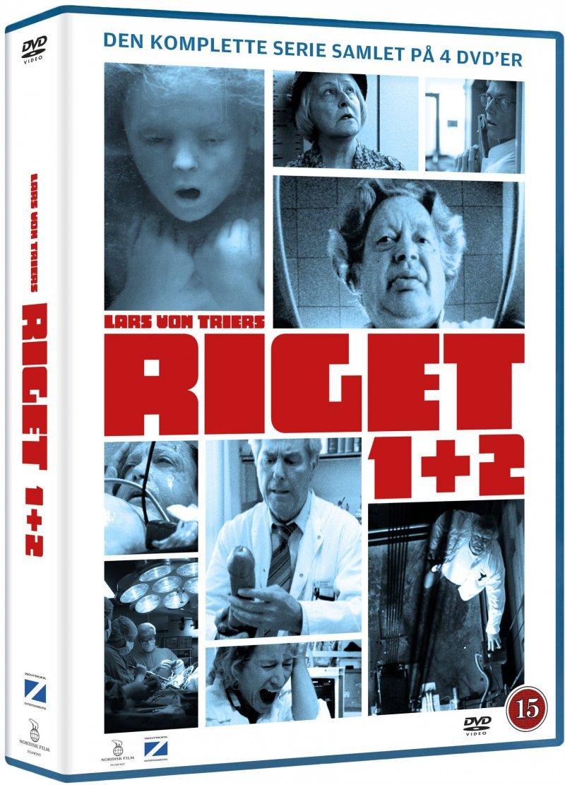 Riget 1 // 2 - DVD - Tv-serie