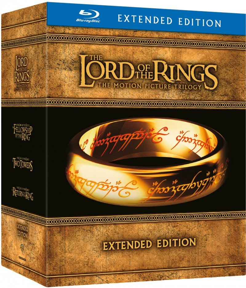 Ringenes Herre Trilogi - Extended Edition / Lord Of The Rings - Blu-Ray