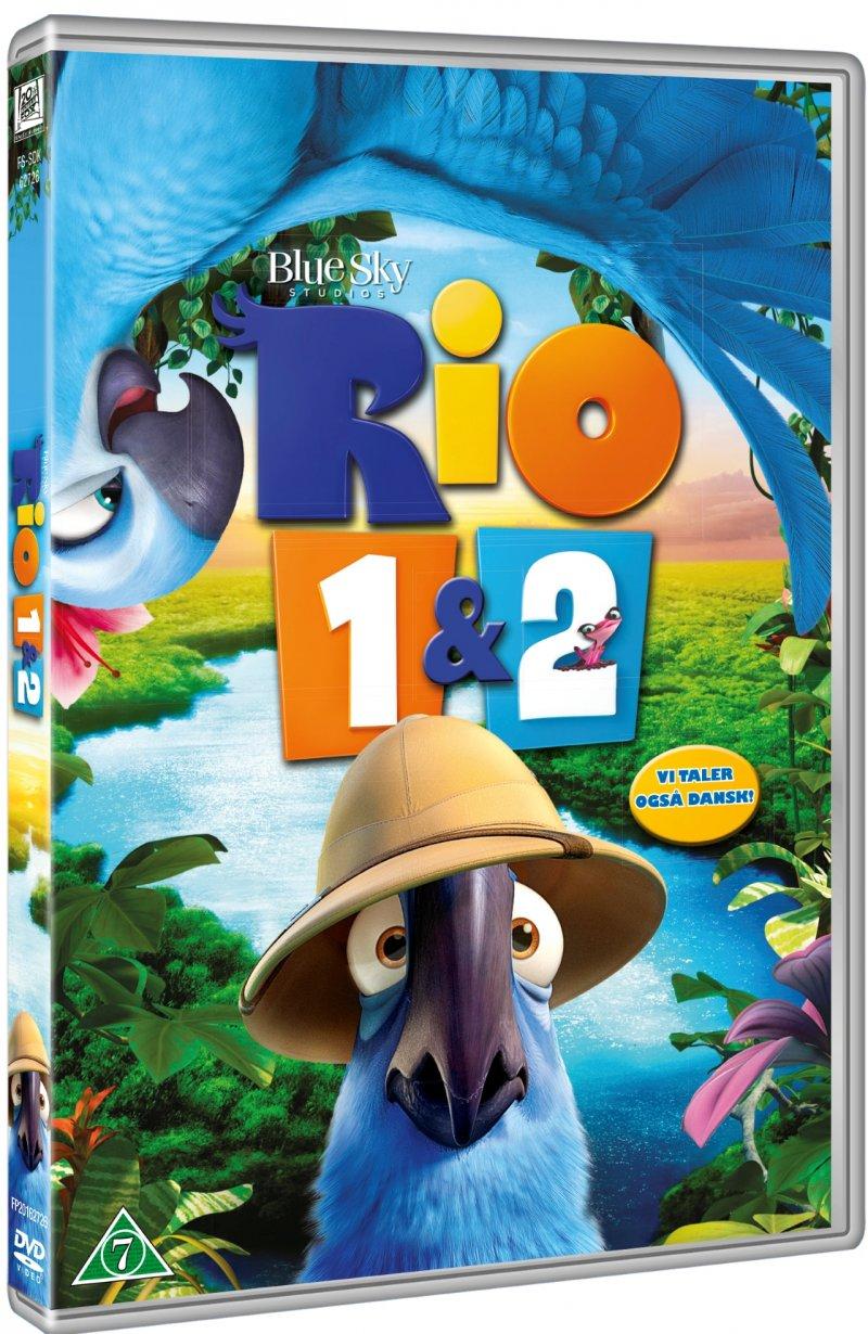 Billede af Rio 1 // Rio 2 - DVD - Film