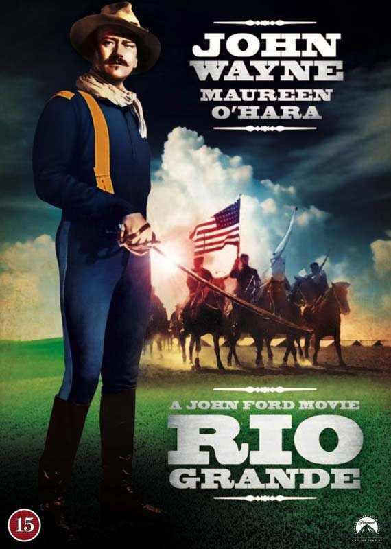 Rio Grande - John Wayne - DVD - Film