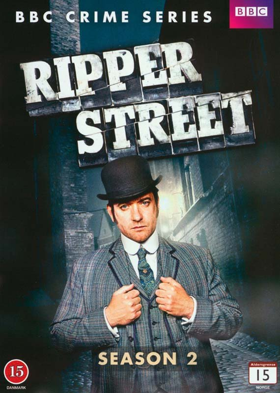 Image of   Ripper Street - Sæson 2 - DVD - Tv-serie