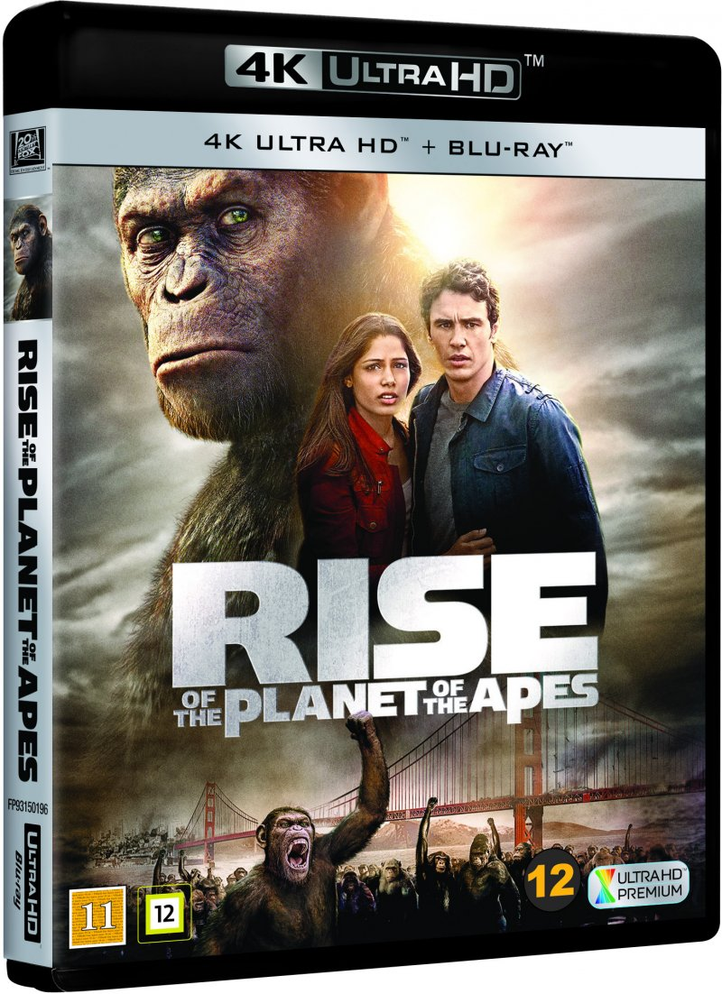 Rise Of The Planet Of The Apes - 4K Blu-Ray