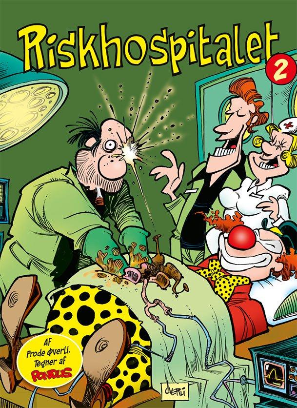 Billede af Riskhospitalet 2 - Frode øverli - Tegneserie