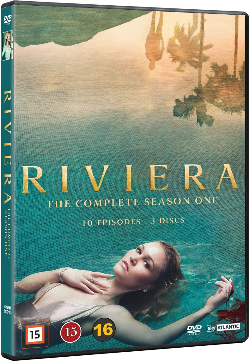 Image of   Riviera - Sæson 1 - DVD - Tv-serie