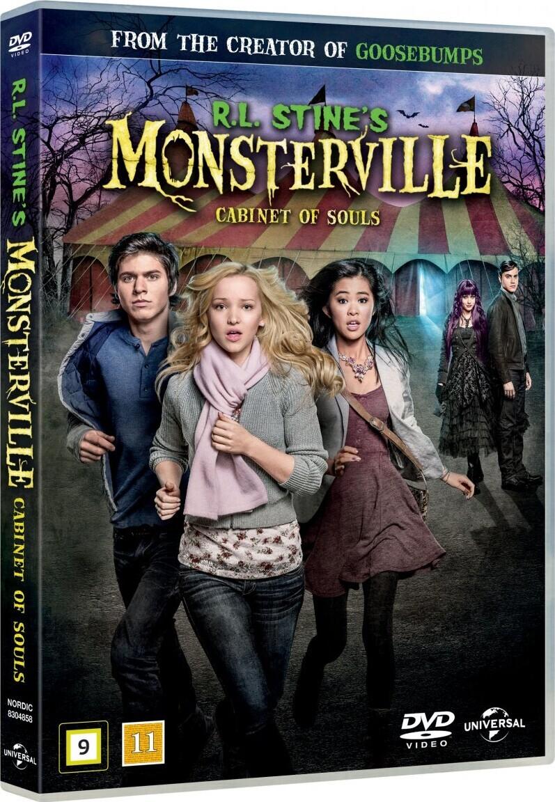 Billede af R.l. Stines Monsterville - The Cabinet Of Souls - DVD - Film