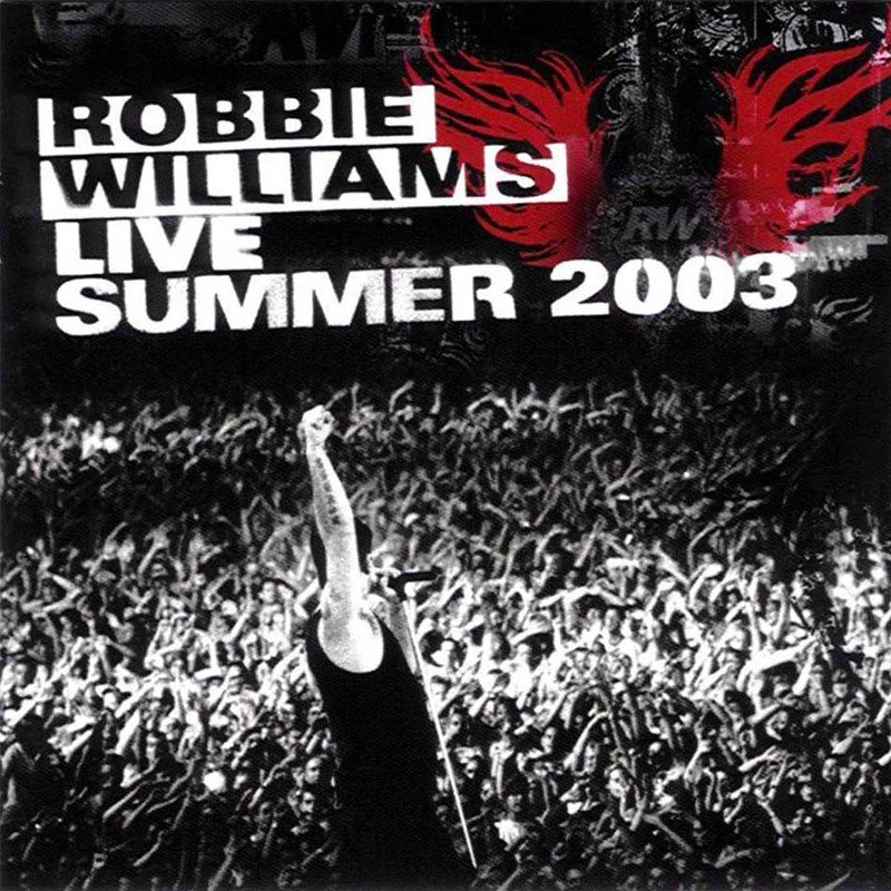 Image of   Robbie Williams - Live Summer 2003 - CD